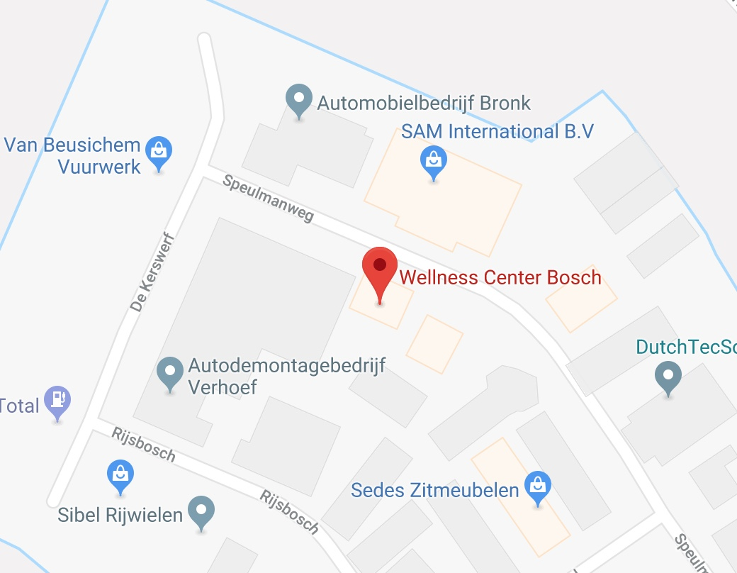 wellness sport center bosch beusichem